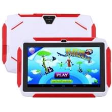 Q98 Kids Game Tablet PC  7 0 inch  1GB+16GB  Android 9.0 Allwinner A50 Quad Core  Support WiFi / Bluetooth / TF Card / G-sensor / Dual Camera(White)