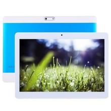 3 G oproep Tablet  10 1 inch  2 GB + 32 GB  Android 6.0 MT6580 Quad Core 1.3 GHz  steun OTG & GPS & FM & Bluetooth & WiFi & Dual SIM(Blue)