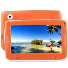 ASTAR Kids onderwijs Tablet  7.0 inch  512 MB + 4 GB  Android 4.4 Allwinner A33 Quad Core  met siliconen Case(Orange)