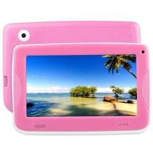 ASTAR Kids onderwijs Tablet  7.0 inch  512 MB + 4 GB  Android 4.4 Allwinner A33 Quad Core  met siliconen Case(Pink)