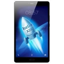 ALLDOCUBE X 1 T801 4 G oproep Tablet  8.4 inch  4 GB + 64 GB  vingerafdruk Unlock  Android 7.1 MTK X 20 (MT6797) Deca Core tot 2.3 GHz  steun OTG & GPS & FM & Bluetooth & Dual Band WiFi & Dual SIM dubbele Standby(Black)
