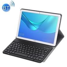 Afneembaar Bluetooth toetsenbord uiterst dunne horizontale Flip lederen draagtas voor Huawei MediaPad M5 10 8 inch  met houder (zwart)