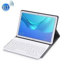 Afneembare Bluetooth-toetsenbord ultradunne horizontale Flip lederen draagtas voor Huawei MediaPad M5 10 8 inch  met houder (Rose goud)