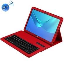 Afneembare Bluetooth-toetsenbord + Litchi textuur horizontale Flip lederen case voor Huawei MediaPad M5 Pro/M5 10 8 inch  met houder (rood)