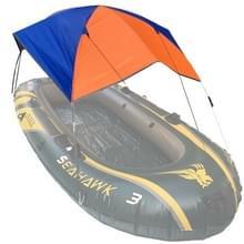68347 vouw luifel kano rubber opblaasbare boot parasol tent voor 2 personen  boot is niet inbegrepen