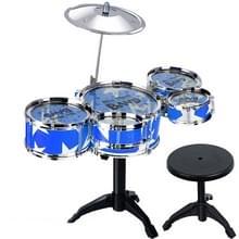 Kinderen simulatie plank Drum Jazz Drum met stoel Set
