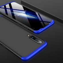 GKK drie stage splicing volledige dekking PC Case voor Xiaomi mi 9 (zwart blauw)