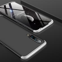 GKK drie stage splicing volledige dekking PC Case voor Xiaomi mi 9 (zwart zilver)