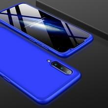 GKK drie stage splicing volledige dekking PC Case voor Xiaomi mi 9 (blauw)