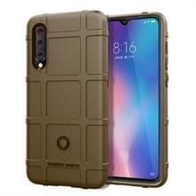 Volledige dekking schokbestendig TPU Case voor Xiaomi mi 9 (bruin)