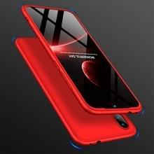 GKK drie fase splicing volledige dekking PC Case voor Xiaomi Redmi Note 7 (rood)