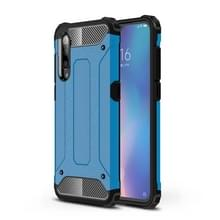 Magic Armor TPU + PC combinatie Case voor Xiaomi mi 9 (blauw)
