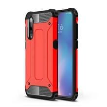 Magic Armor TPU + PC combinatie Case voor Xiaomi mi 9 (rood)
