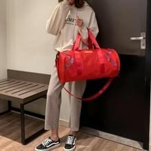 Nylon schuine schouder tas Bagage Handtas (rood)