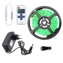 YWXLight dimbare licht strip Kit  5m LED lint  niet-waterdicht voor indoor  11key afstandsbediening LED strip lamp 300led EU plug (groen)