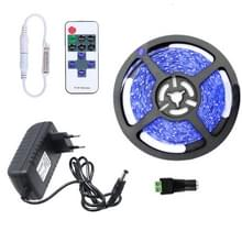 YWXLight dimbare licht strip Kit  5m LED lint  niet-waterdicht voor indoor  11key afstandsbediening LED strip lamp 300led EU plug (blauw)