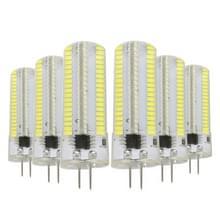 YWXLight 6PCS G4 7W AC 220-240V 152LEDs SMD 3014 energie besparende LED siliconen Lamp (koud wit)