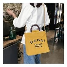 DAMAi casual canvas schoudertas dames handtas Messenger Bag