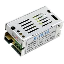 YWXLight LED Switching Power Supply 12V 1.25A 15Watts geregeld transformator Converter AC 110V-220V naar 12V DC voor LED Strip etc
