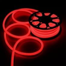 YWXLight 5m 600LEDs 2835 SMD LED neon licht flexibele DIP IP67 waterdichte touw licht 2 draden  AC 220-240V (rood licht)