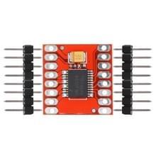 LDTR-WG0212 1.2 A mini dual motor driver module Full-Bridge driver voor Arduino (rood)