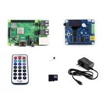 Waveshare framboos Pi 3 model B + Development Kit (type B)
