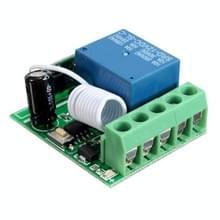 LDTR-WG0228 DC12V 10A 1CH 433MHz draadloze relay RF afstandsbediening schakelaar ontvanger (groen)