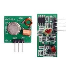 LDTR-WG0241 DIY 433MHz draadloze zender + ontvangende module Superregeneration (groen)