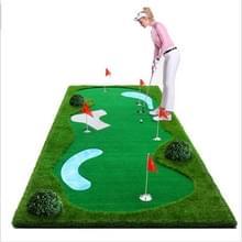PGM Golf Putting Trainer Water Ripple groene Trainer  1 5 x 3m