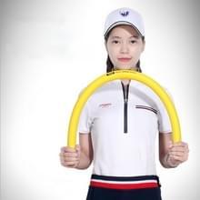 PGM multifunctionele Golf praktijk zachte Swing Stick lichtgewicht flexibiliteit Aids trainingsinstrument  formaat: 80 x 3 cm (geel)