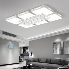 65W woonkamer eenvoudige moderne LED plafond Lamp Crystal Light  90 x 60cm (wit licht)