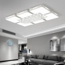 65W woonkamer eenvoudige moderne LED plafond Lamp kristal licht  traploos dimmen + afstandsbediening  90 x 60cm
