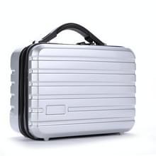 Opslag zak koffer harde shell beschermhoes schokbestendige draagtas voor Hyperice Hypervolt (zilver)
