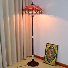 YWXLight rode bodem vloer lamp woonkamer Restaurant Bar Decortatie Light (EU-stekker)
