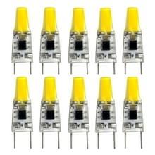 YWXLight 10 stuks 2W G8 1505 COB Ultra Bright LED bi-PIN verlichting  AC 110-130V (Cold White)