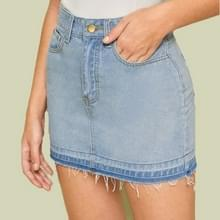 Denim Tas Hip Skirt (Baby Blue_XL)