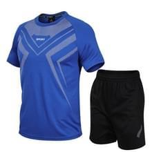 Casual Sport Fitness Pak Sneldrogende Kleding (Kleur: Blauwe Maat: L)