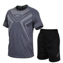Casual Sport Fitness Pak Sneldrogen (Kleur: Grijs formaat: M)