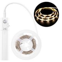 YWXLight Led Sensor Licht met 2835 lichtbalkkastlamp licht infrarood 2m (warm wit)