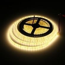 YWXLight 15W 5m 600 LEDS SMD 2835 IP65 Waterdicht Flexibel LED Strip Light  DC 12V (Warm Wit)