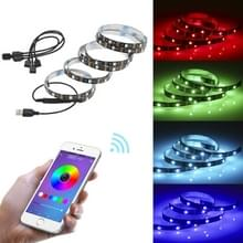 YWXLight 1 tot 4 TV Achtergrond Bluetooth APP Mobiele Telefoon Controller USB LED Light Strip