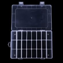 HENGJIA qt022 twintig vier raster waterdichte Multifunction visserij Gear opslag transparante Fishing Tackle gereedschapskist