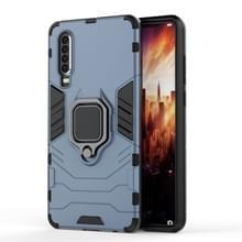 PC + TPU schokbestendige beschermende case voor Huawei P30  met magnetische ring houder