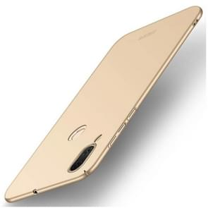 MOFI voor Asus Zenfone Max (M1) ZB555KL Frosted PC ultra-dun Edge Fully Wrapped beschermings Back Cover hoesje(Goud)