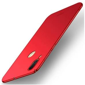 MOFI voor Asus Zenfone Max (M1) ZB555KL Frosted PC ultra-dun Edge Fully Wrapped beschermings Back Cover hoesje(rood)