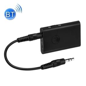 2 in 1 Bluetooth Receiver & Transmitter, For iPhone, Samsung, HTC, Sony, Google, Huawei, Xiaomi and other Smartphones & TV & PC & Headphone etc(Black)
