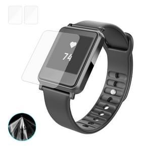 2 PCS ENKAY Hat-Prince for iwown i7 Smart Sports Watch TPU Screen Protector