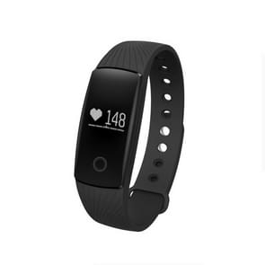 ID107HR Heart Rate Monitor Fitness Tracker Smart Wristband for iOS / Android Mobile Phone, Pedometer / Sleep Monitor / Anti-lost / Camera Remote Control(Black)