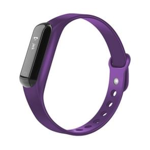CHIGU C3 0.69 inch OLED Display Bluetooth Smart Bracelet, IP67 Waterproof Support Pedometer / Calls Remind / Sleep Monitor / Sedentary Reminder / Alarm / Anti-lost, Compatible with Android and iOS Phones(Purple)