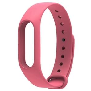For Xiaomi Mi Band 2 (CA0600B) Colorful Replacement Wristbands Bracelet, Host not Included(Pink)